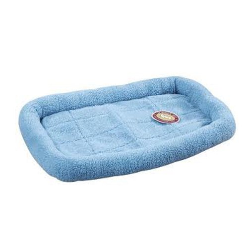 Slumber Pet Sherpa Dog Crate Bed, X-Small, Sky Blue front-496628