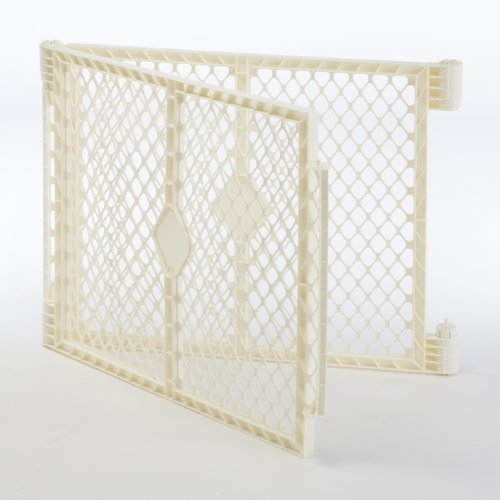 North States Industries Superyard Ultimate Play Yard 2 Panel Extension, Ivory