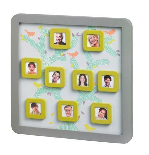 Baby Art - 34120124 - Family Tree Frame - Cornice da appendere nella cameretta, da personalizzare con portafoto calamitati