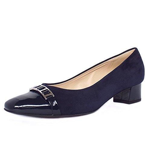 peter-kaiser-arla-tacco-basso-corte-scarpe-da-donna-in-camoscio-navy-e-brevetto-5-notte-suede