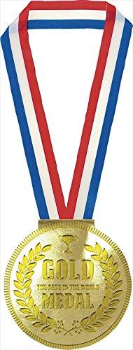 金メダルメモ 【販促品 景品 業務用 粗品 ゴールド 金メダル メモ キラキラ ゴージャス 金色】