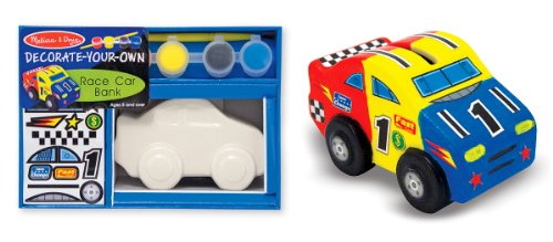 Melissa & Doug Race Car Bank - Dyo front-784213