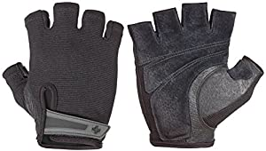 Harbinger Power StretchBack Glove (Black, Small)