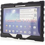 "Samsung Galaxy Tab 3 10"" - Shockdrop - Rugged Case - Black"