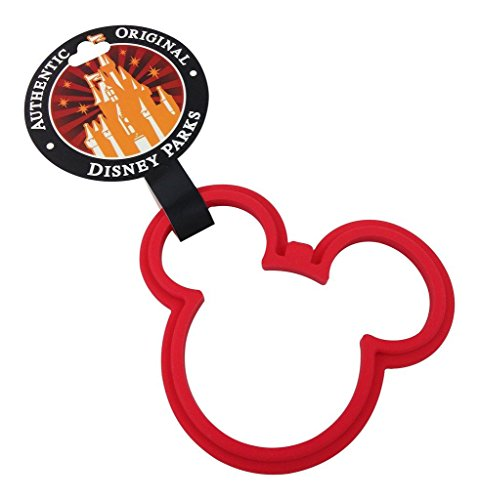 Disney Parks Exclusive Mickey Mouse Icon Silicone Pancake Egg Ring (Pancake Molds For Kids compare prices)