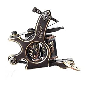 Qinf fttattoo cnc precise carving brass for Amazon tattoo machine
