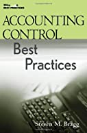 Thumbnail Accounting Control Best Practices (Wiley Best Practices)