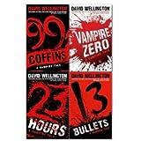 David Wellington David Wellington A Vengeful Vampire Tale 4 Books Collection Pack Set RRP: £47.09 (Vampire Zero, 13 Bullets, 99 Coffins, 23 Hours)