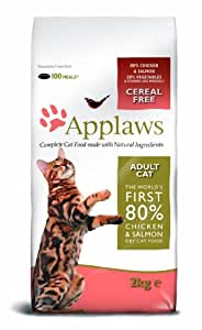 Applaws Dry Cat Chicken and Salmon 2kg