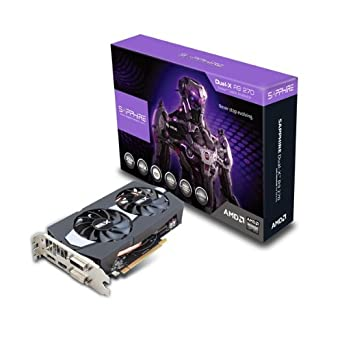 Sapphire Radeon R9 270 2GB GDDR5 DVI-I/DVI-D/HDMI/DP Dual-X with Boost and OC Version PCI-Express Graphics Cards 11220-00-20G