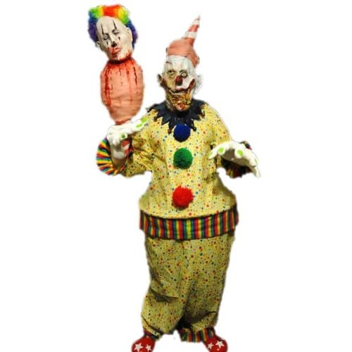 Amazon.com: Rotten Cotton Candy Clown Costume Mask