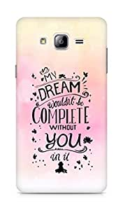 AMEZ my dream wouldnt have been complete without you Back Cover For Samsung Galaxy ON7