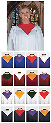 [Plain Reversible Choir Stole 6-pkg] (Church Choir Costumes)