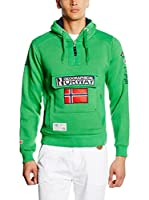 Geographical Norway Sudadera con Capucha Gymclass (Verde)