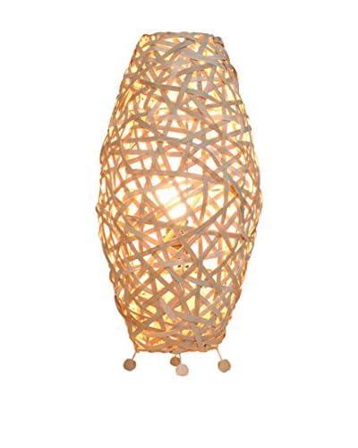 Colonial Style Lampada Da Tavolo Naturale