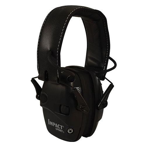 Howard Leight by Honeywell R-02524 Impact Sport Sound Amplification Electronic Earmuff, Black (Honeywell Ear Muffs compare prices)