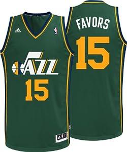 Derrick Favors Jersey: Adidas Alternate Swingman #15 Utah Jazz Jersey by adidas