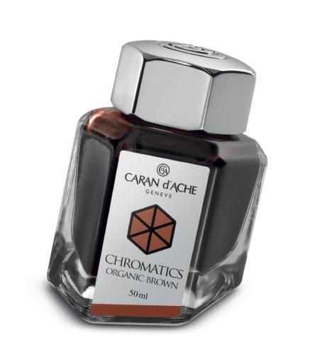 Caran d'Ache Bouteille d'encre Chromatics Marron 50 ml