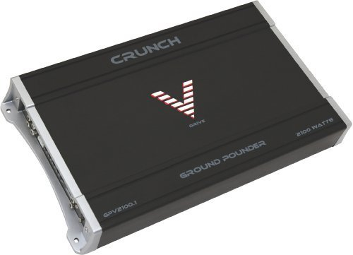 Crunch Gpv2100.1 1 X 500 @ 4 Ohms, 1 X 1000 @ 2 Ohms, 1 X 2000 @ 1 Ohm Amplifier