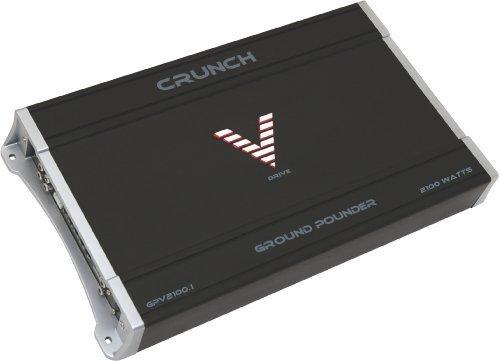 Crunch Gpv2100.1 1 X 500 @ 4 Ohms, 1 X 1000 @ 2 Ohms, 1 X 2000 @ 1 Ohm Amplifier
