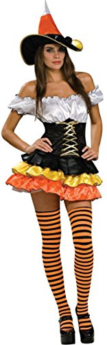 Morris Costumes Women's Candy Corn Cutie Adult Costume, Small