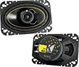 11DS46 4X6 Coaxial Speakers Pair