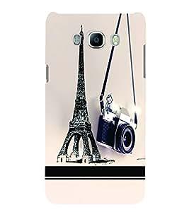 PrintVisa Travel Paris Camera 3D Hard Polycarbonate Designer Back Case Cover for SAMSUNG GALAXY J5 2016 Edition