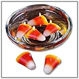 Candy Corn Floating Candles Set Of 4