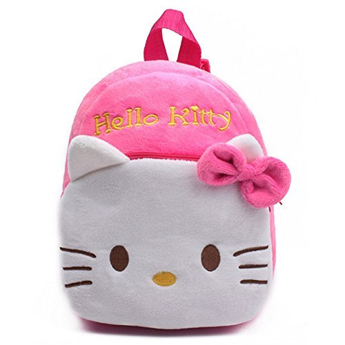 Senmi-Childrens-Boys-Girls-Cartoon-Animal-Backpack-Baby-Toddler-Kids-Schoolbag-Shoulder-Bag-Kindergarten-Bag-Hello-Kitty