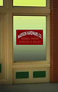Miller Engineering 8920 Model Madison Hardware Window Signby Miller Signs