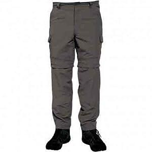 Regatta Lattice Mens Walking Hiking Zip Off Trousers Seal Grey 40Wx31L RMJ044