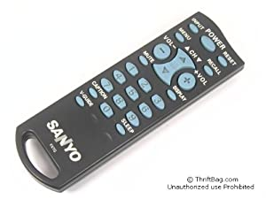 Sanyo DS13204 DS13330 DS19204 DS20424 DS20424A 6450656910 Remote Control