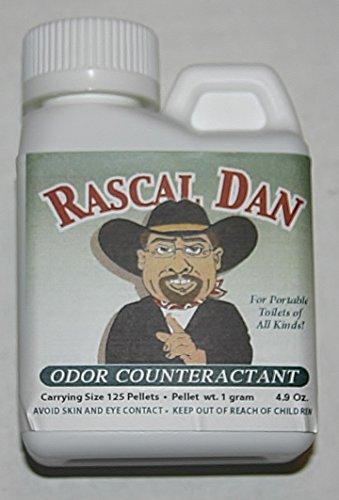 Toilet Odor Control : Rascal dan portable toilet odor control counteractant