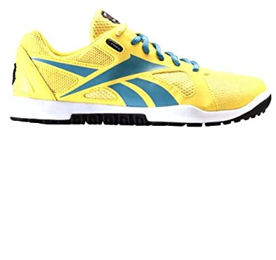 Buy Reebok Ladies Running Shoes J90998 Crossfit Nano Yellow Mesh by Reebok