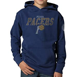 NBA Indiana Pacers Playball Hoodie Jacket, Bleacher Blue by