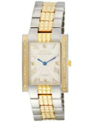 Daniel Steiger Men's 6002-M Sienna Swiss Quartz  Two-Tone Diamond Watch