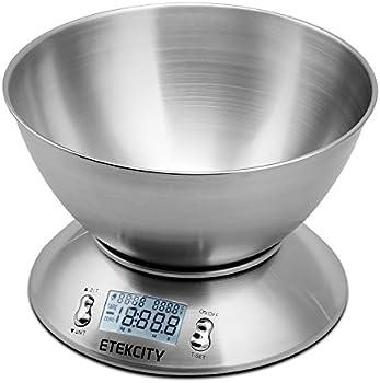 Etekcity 11lb 5kg Digital Multifunction Kitchen Food Scale