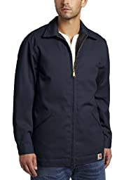 Carhartt Men\'s Twill Work Jacket ,Navy,XX-Large