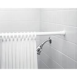 Freelance Shower Curtain Expandable, Extendable, Adjustable, Spring, Tension Pole Heavy Duty Rod, 76
