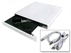Slim Portable USB 2.0 External CD-RW/DVD Combo Drive