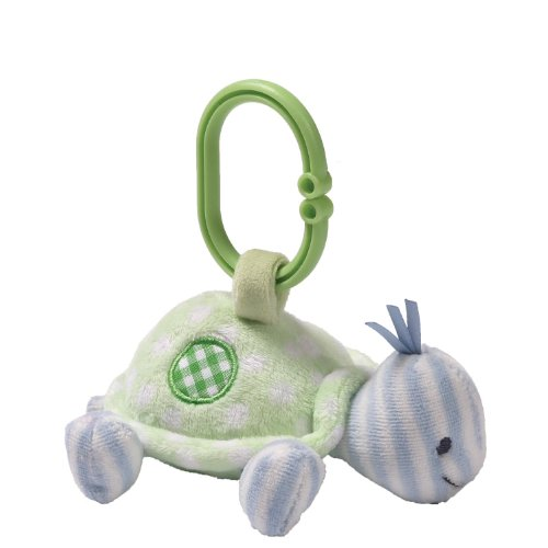 Gund Baby Rattle, Teller Turtle (Discontinued by Manufacturer)