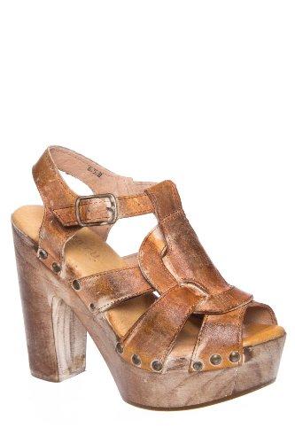 Bed|Stu Melissa High Heel Huarache Slingback Sandal