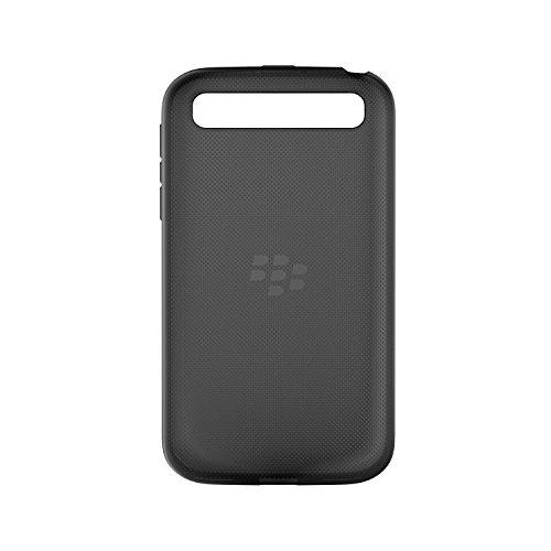 Genuine BlackBerry Soft Shell for BlackBerry Classic - Black Translucent (ACC-60086-001)