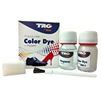 TRG the One Self Shine Metallic Leather Dye Kit #401 Silver