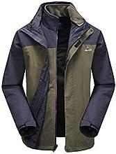 Men39s Nylon Camping Jackets - Army Green - XXL
