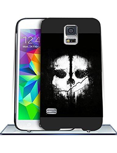 Call Of Duty Ghosts Logo Samsung S5 CustodiaCase - Durable CustodiaCase & Cover {Drop Proof} +{Impact Resistant} CustodiaCase for Samsung Galaxy S5 i9600