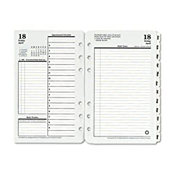 FDP35414 - Original Dated Daily Planner Refill January-December, 4-1/4 x 6-3/4, 2016