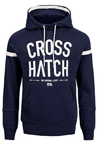 Crosshatch Chassis Hoody, Größe:M;Farbe:Iris Navy