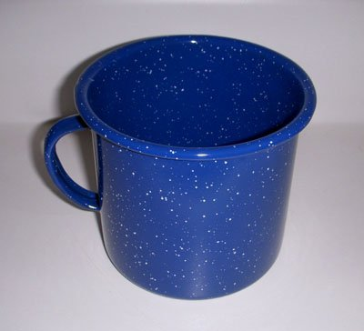 Blue Enamel 24Oz Mug