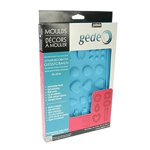 Gedeo - Molde para bisutería (30 x 20 cm), color azul   Comentarios de clientes y más información